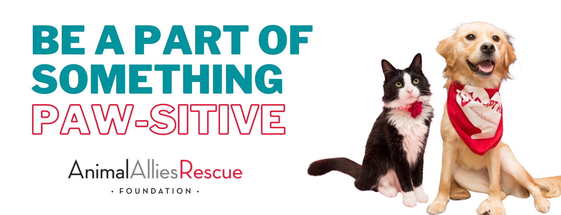 Be a Part of Something Paw-sitive - Animal Allies Rescue Foundation