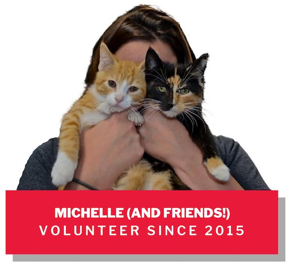 Michelle, volunteer since 2015